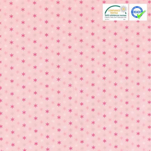 Coton rose motif felido bonbon