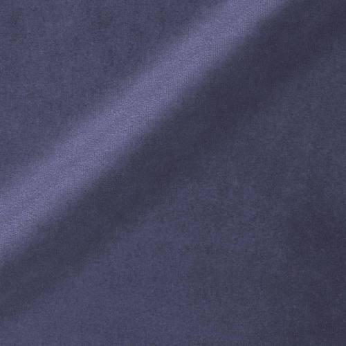 Ameublement velours bleu bleuet