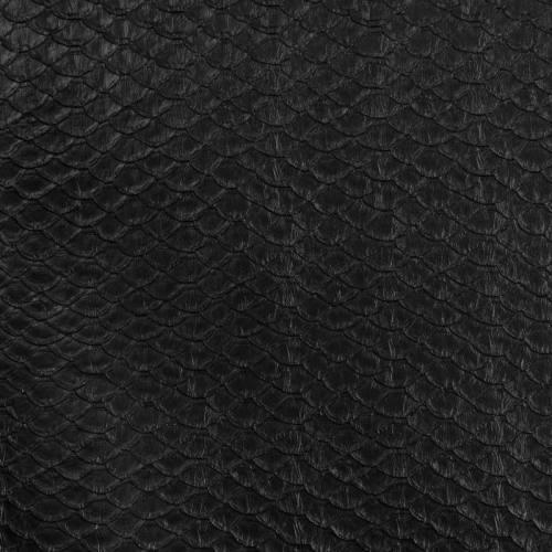 Simili cuir noir écaille