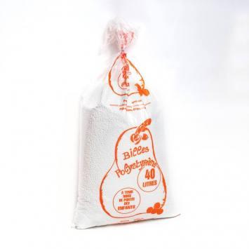 Sachet de billes de polystyrène 40 L