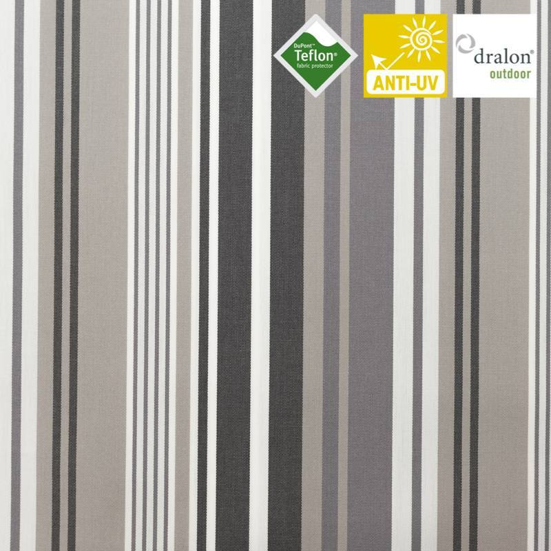 toile ext rieur t flon grande largeur lavandou gris pas. Black Bedroom Furniture Sets. Home Design Ideas