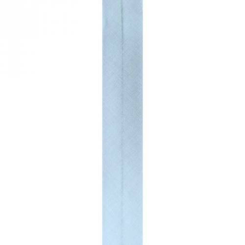 Bobine de biais 30mm 5m bleu pastel