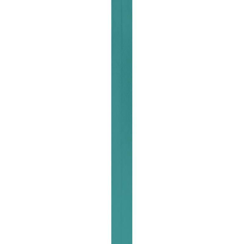 Bobine de biais 20mm 5m bleu canard