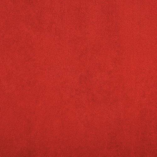 Suédine rouge fraise