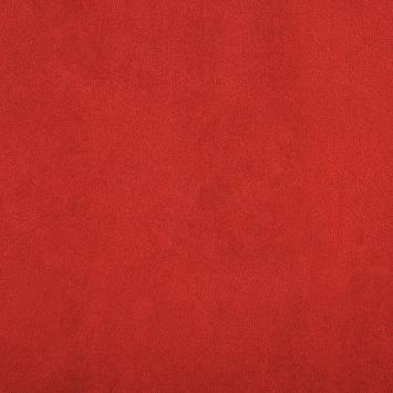 suédine rouge