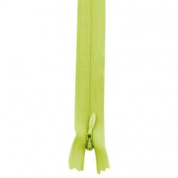 Fermeture à glissière invisible 60 cm col 177 vert pomme