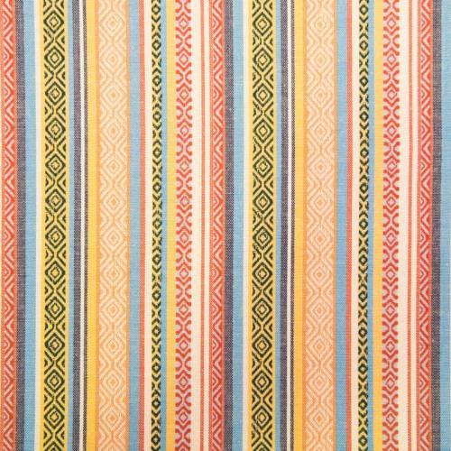 Tissu mexicain pastel multicolore