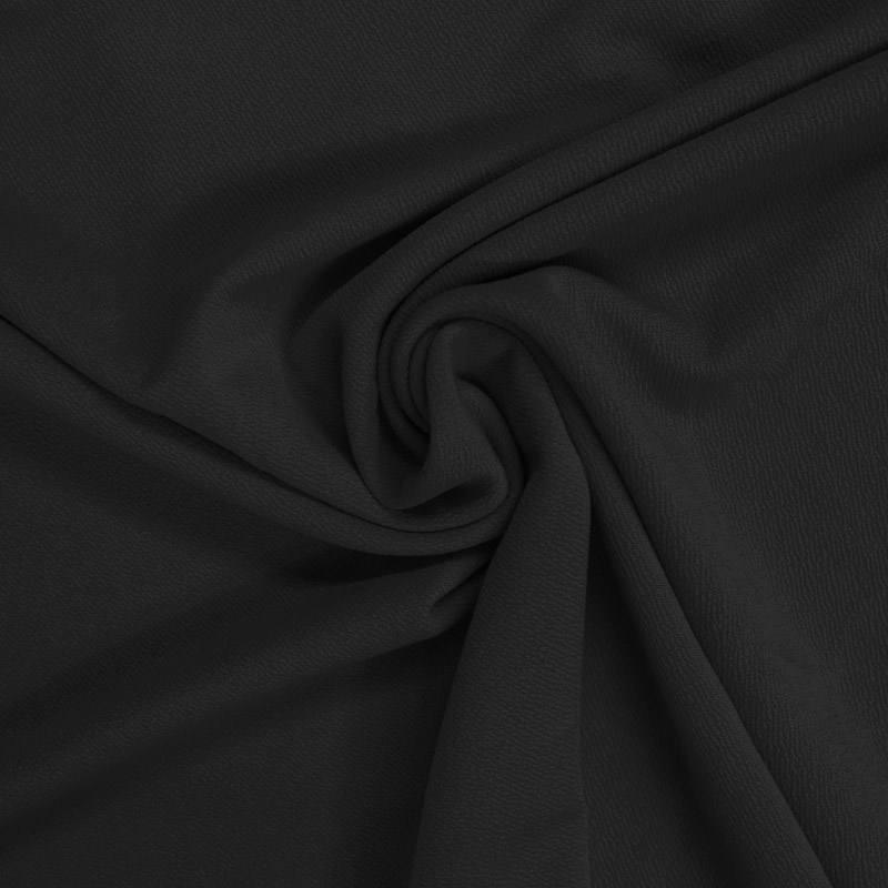 Jersey crêpe noir