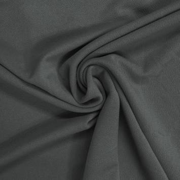 Jersey crêpe dark kaki