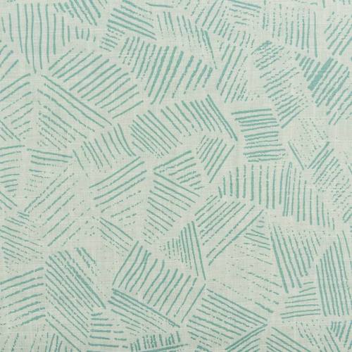 Coton bio pour lange bébé vert motif hachures