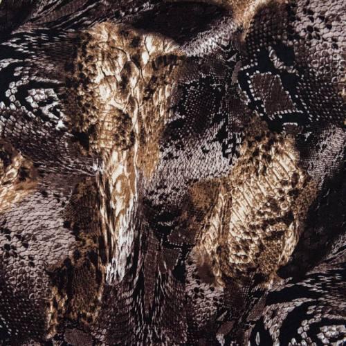 Tissu viscose imprimé animal