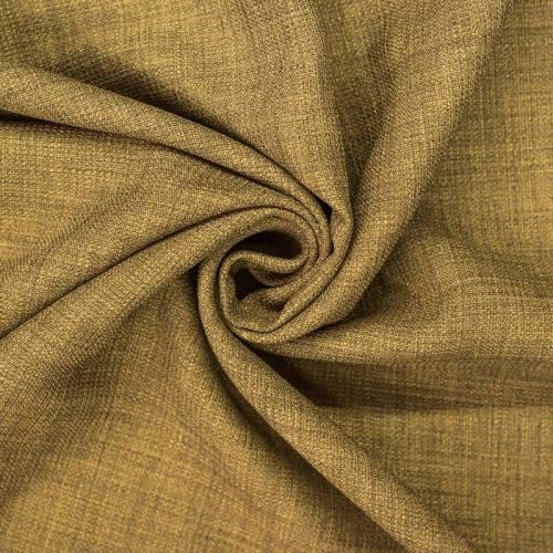 Tissu aspect lin vert tilleul