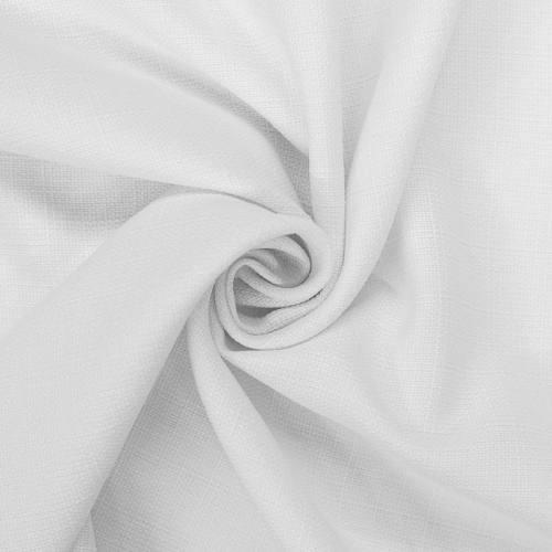 Tissu aspect lin blanc