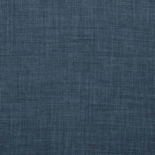 Tissu aspect lin bleu denim