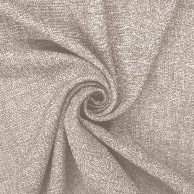 Tissu aspect lin grège