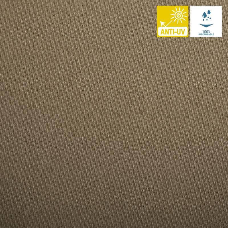 Tissu imperm able jet taupe pas cher tissus price for Tissu exterieur impermeable au metre
