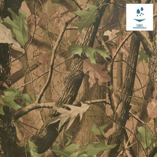 Tissu imperméable camouflage forêt