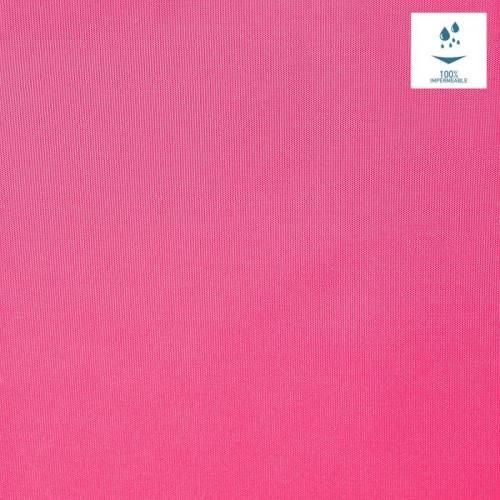 Tissu imperméable léger rose