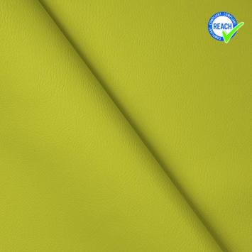 Simili cuir uni green vert anis