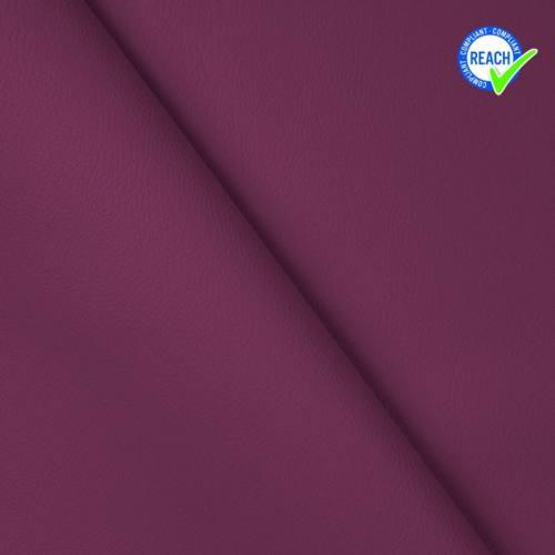 Simili cuir uni green violet