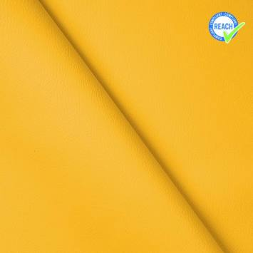 Simili cuir uni green jaune