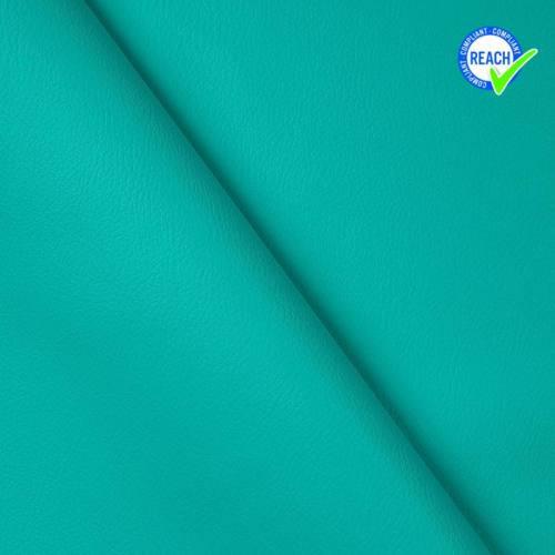 Simili cuir uni green bleu turquoise