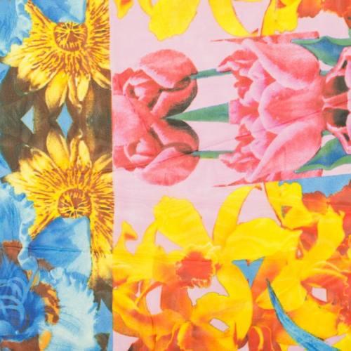 Mousseline multicolore variétés florales
