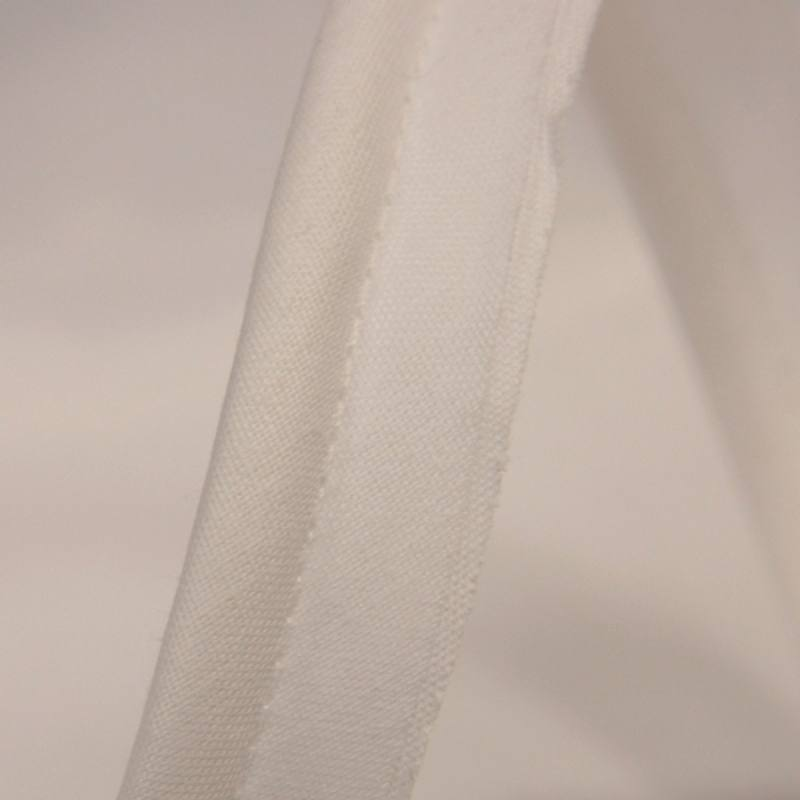 Passepoil blanc 45 mm