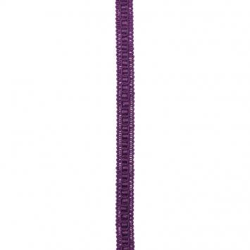 Galon fantaisie 15mm violet
