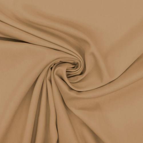 Tissu viscose twill camel