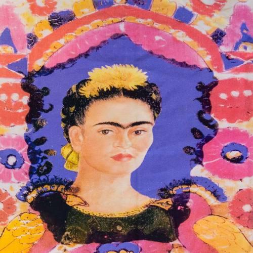 Coupon femme aquarelle 46x43,5 cm
