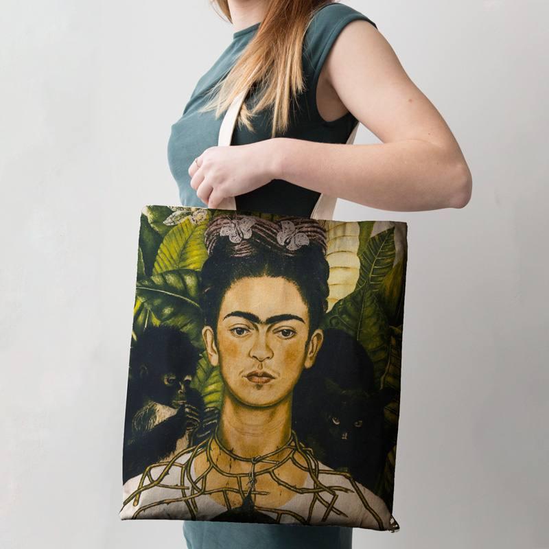 Coupon femme jungle 46x43,5 cm