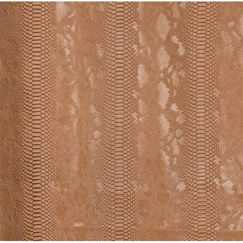 coupon - Coupon 50x65cm - Simili cuir Dragon beige