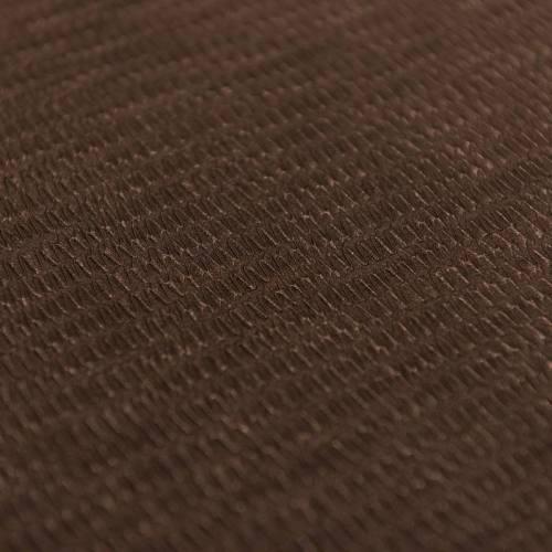 Simili cuir brun strié