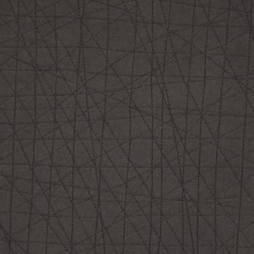 Simili cuir graphique anthracite