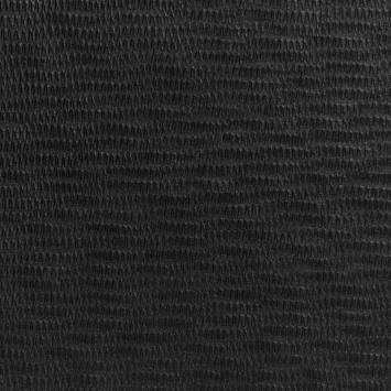 Simili cuir noir strié