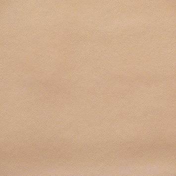 Simili cuir lisse beige