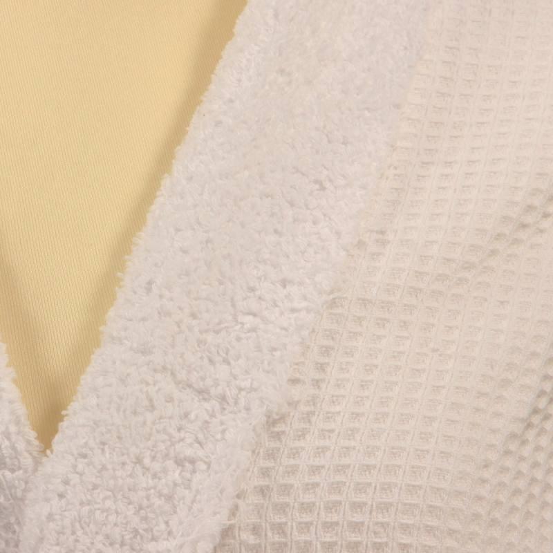 Éponge blanche - double face nid d'abeille