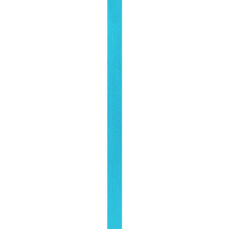 Ruban sergé turquoise 11 mm