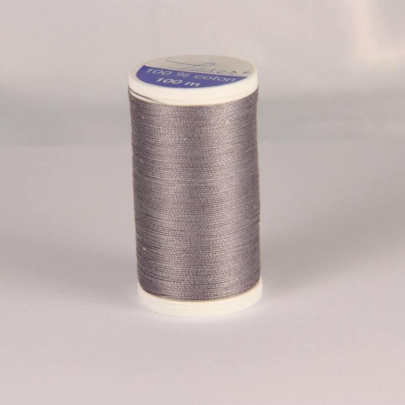 Fil coton laser gris 3126