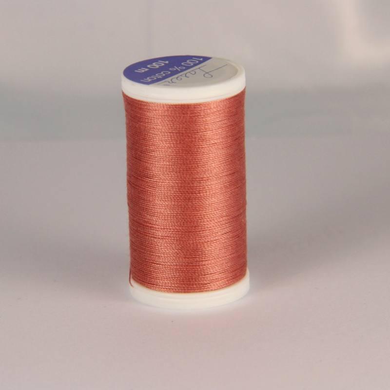Fil coton laser rose saumon 3340