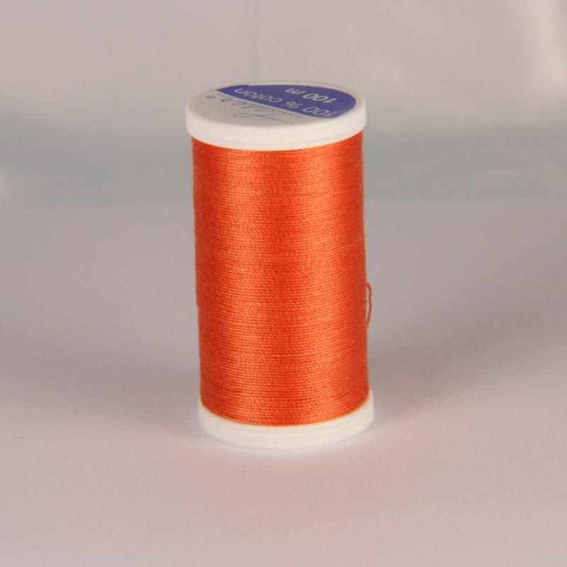 Fil coton laser orange 3404