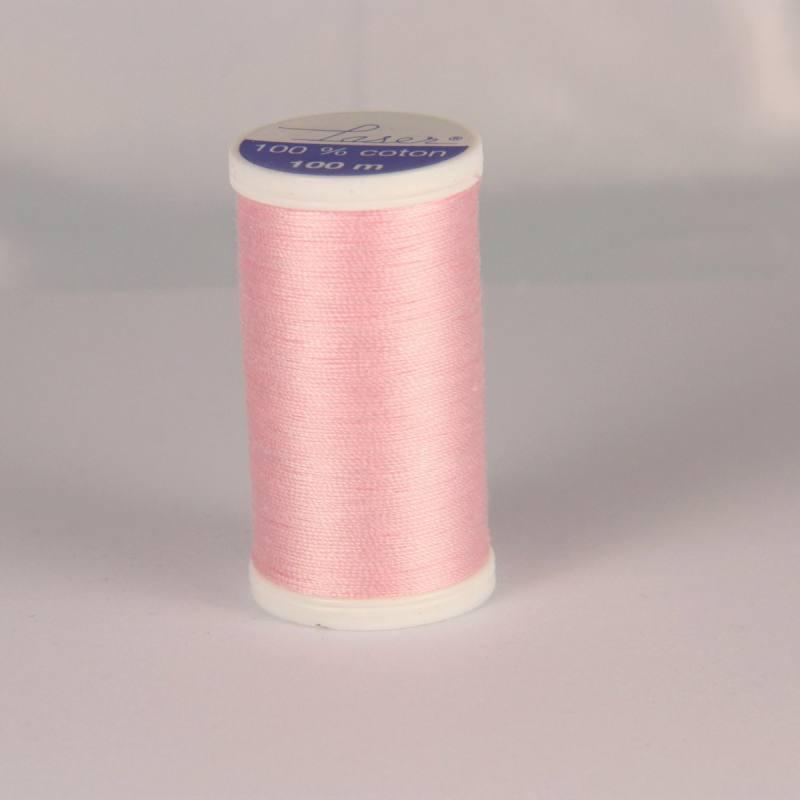 Fil coton laser rose clair 3420