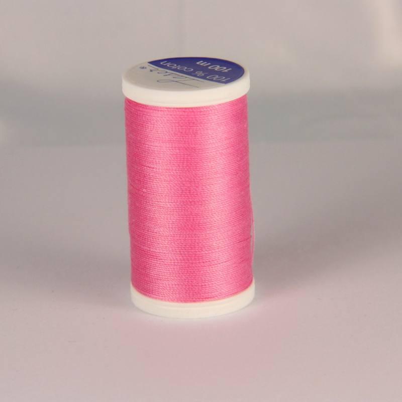 Fil coton laser rose 3424