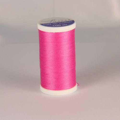 Fil coton laser rose 3434
