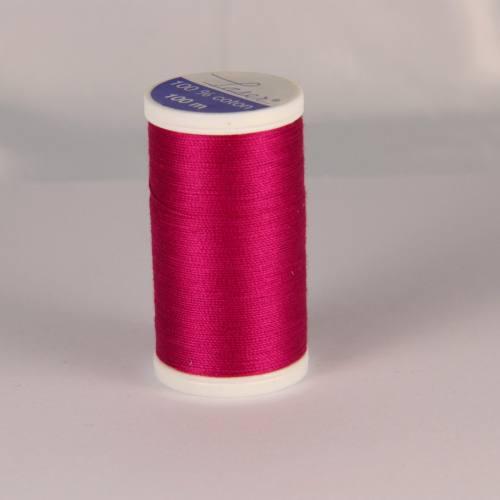 Fil coton laser framboise 3442