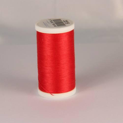 Fil coton laser rose rouge 3519