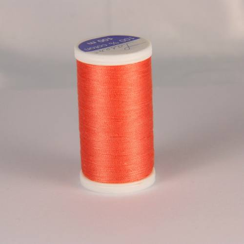 Fil coton laser orange clair 3526