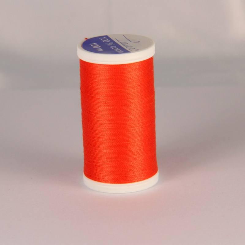 Fil coton laser orange 3530