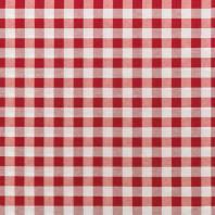 Tissu moyens carreaux rouges et blancs